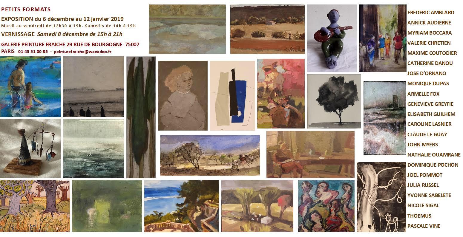 Exposition Galerie Peinture Fraiche 12-2018
