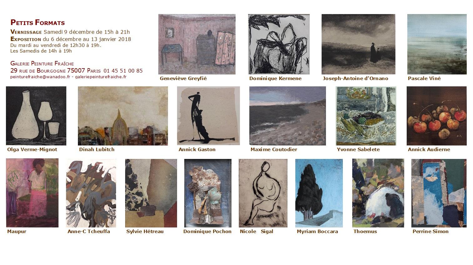 Exposition Peinture Fraiche