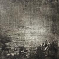 Peintures polaroid imaginaires 10x10 12