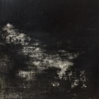 Peintures polaroid imaginaires 10x10 25