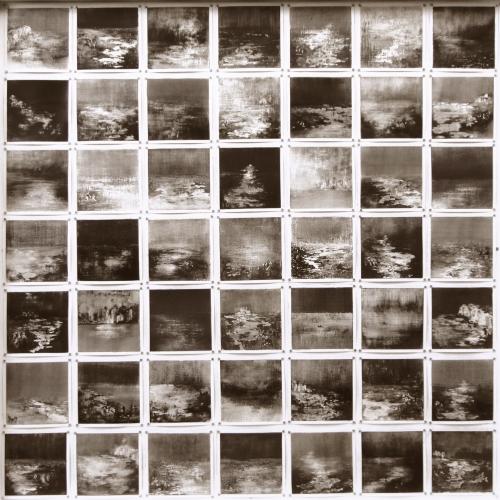 Peintures polaroid imaginaires 10x10 01