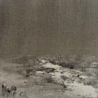 Peintures polaroid imaginaires 10x10 55