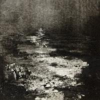 Peintures polaroid imaginaires 10x10 13