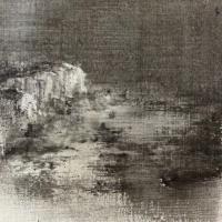 Peintures polaroid imaginaires 10x10 14