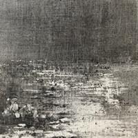 Peintures polaroid imaginaires 10x10 35