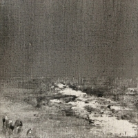 Peintures polaroid imaginaires 10x10 05