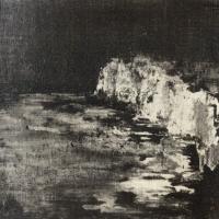 Peintures polaroid imaginaires 10x10 10