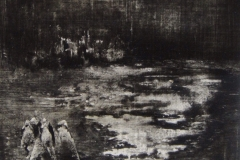 Peintures polaroid imaginaires 10x10 15