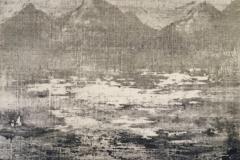 Peintures polaroid imaginaires 10x10 40