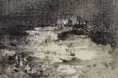 Peintures polaroid imaginaires 10x10 50