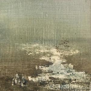 Peinture polaroid imaginaires papier toilé 44