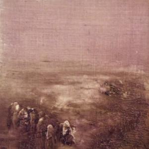 Peinture polaroid imaginaires papier toilé 46
