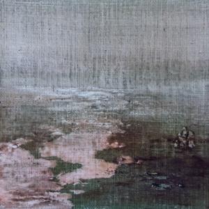 Peinture polaroid imaginaires papier toilé 54