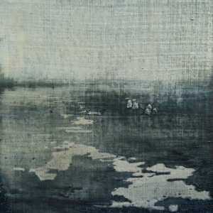Peinture polaroid imaginaires papier toilé 23