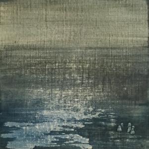 Peinture polaroid imaginaires papier toilé 49