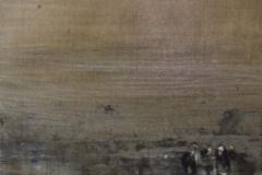 Peinture polaroid imaginaires papier toilé 35