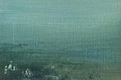 Peinture polaroid imaginaires papier toilé 56