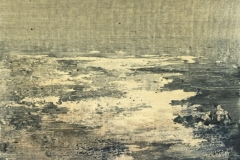 Peinture polaroid imaginaires papier toilé 09