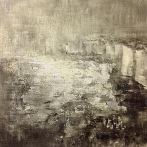 Tempera sur papier toilé 30x30 cm 14