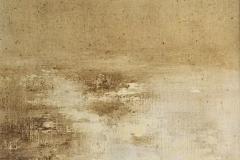 Tempera sur papier toilé 30x30 cm 29