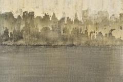 Tempera sur papier toilé 30x30 cm 03