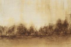 Tempera sur papier toilé 30x30 cm 11