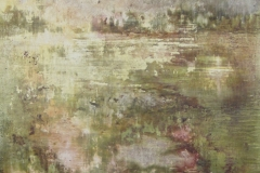 Tempera sur papier toilé 30x30 cm 22